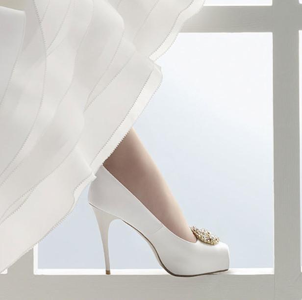 rosa clara ayakkabi 1 - Gelin Ayakkab�lar�