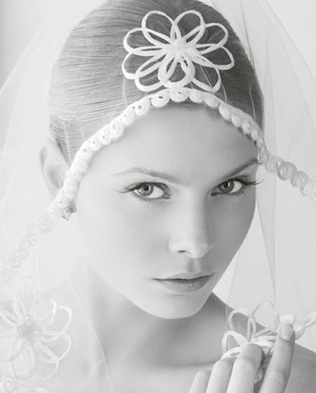 Rosa Clara'dan Gelin Başı Modelleri
